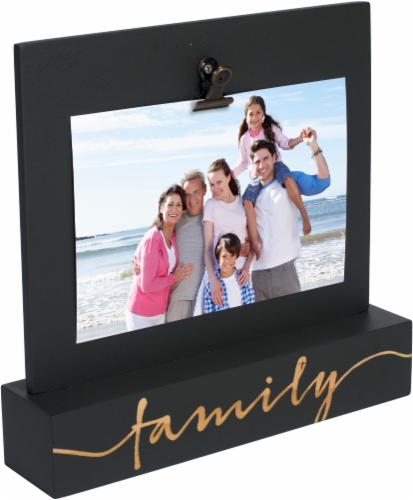 Malden Family Laser Engraved Tabletop Frame Perspective: front
