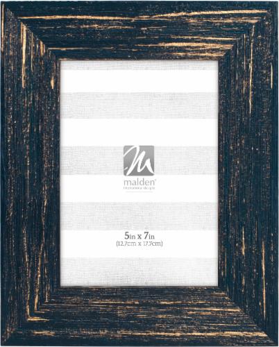 Malden Picture Frame - Blue/Gold Perspective: front