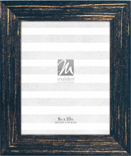 Malden Gold Wash 8 x 10 Picture Frame Perspective: front