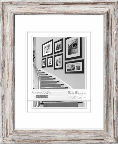 Malden 11 x 14 Picture Frame with 8 x 10 Mat Perspective: front