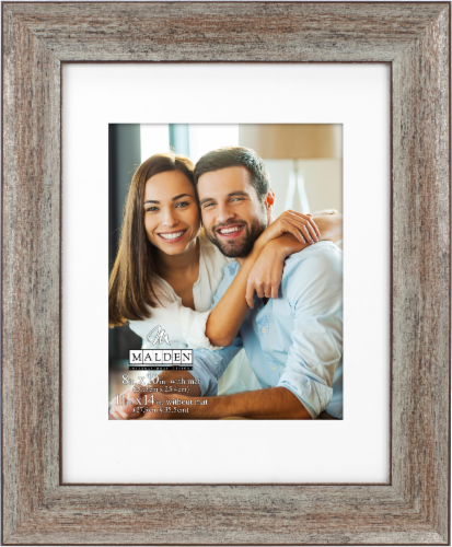 Malden Bronze Molding Picture Frame Perspective: front