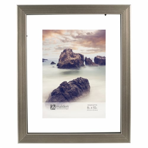 Malden International Designs 8X10 Picture Frame - Champagne Perspective: front