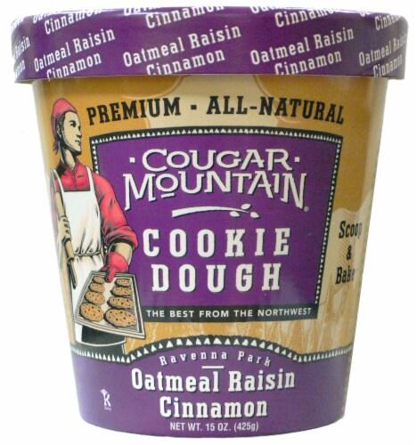 Cougar Mountain Oatmeal Raisin Cookie Dough Perspective: front