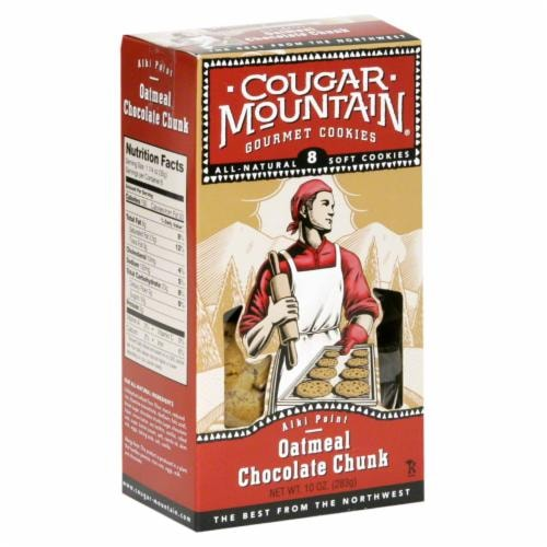 Cougar Mountain Oatmeal Chocolate Chip Cookies 8 Count Perspective: front