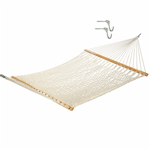 Castaway Hammock Cotton Rope Large Perspective: front