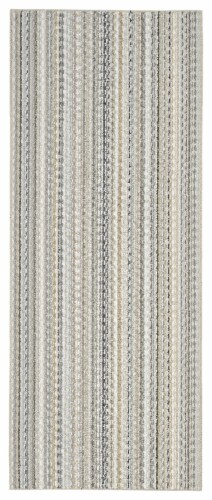 Garland Rug Carnival Floor Runner - Earth Tone Perspective: front