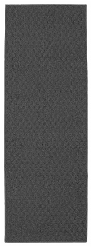 Garland Rug Town Square Floor Runner - Gray Perspective: front