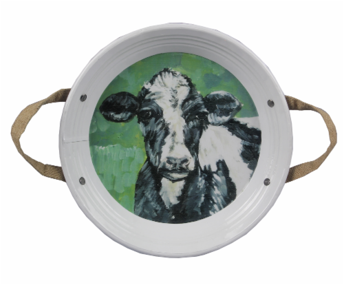 Barnyard  Metal Tray 2 PC. Set Perspective: front