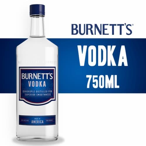 Burnett's Vodka Perspective: front