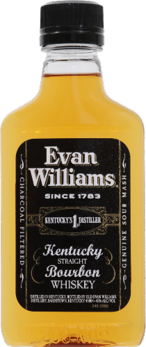 Evan Williams Whiskey Perspective: front