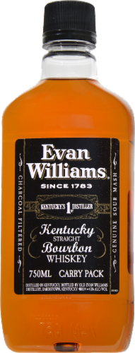 Evan Willams Bourbon Whiskey Perspective: front