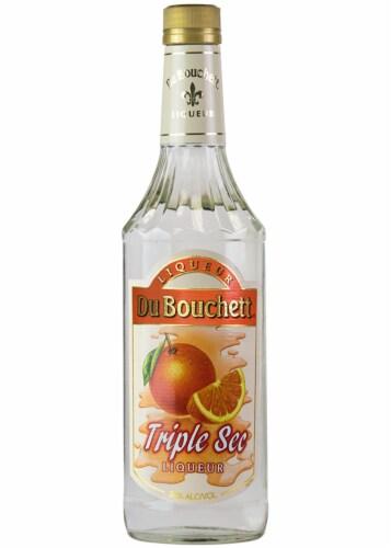DuBouchett Triple Sec Liqueur Perspective: front
