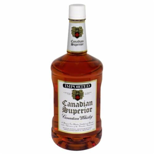 Canadian Superior Canadian Whisky Perspective: front