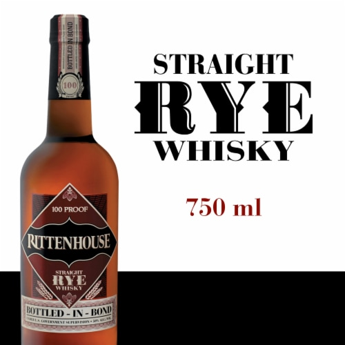 Rittenhouse Straight Rye Whisky Perspective: front
