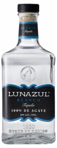 Lunazul Blanco Tequila Perspective: front