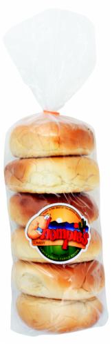 Chompie's Plain Bagels Perspective: front