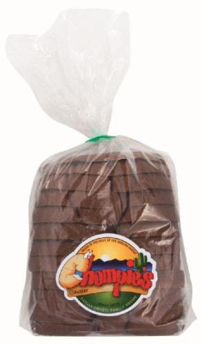 Chompie's Pumpernickel Rye Bread Perspective: front