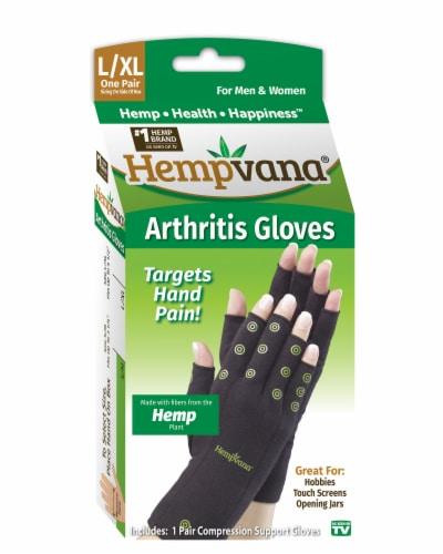 Telebrands Hempvana Gloves Perspective: front