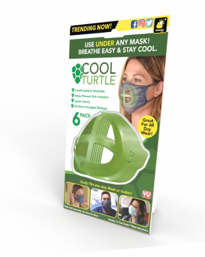 Cool Turtle Mask Enhancers Perspective: front