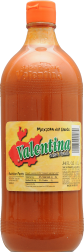 Valentina Mexican Hot Sauce Perspective: front