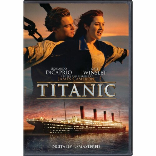 Titanic (2012 - DVD) Perspective: front