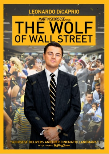 The Wolf of Wall Street (2018 - DVD) Perspective: front