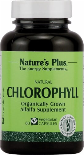 Nature's Plus  Chlorophyll Perspective: front