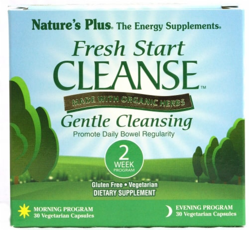 Nature's Plus Organic Fresh Start Cleanse 2 Week Program Perspective: front