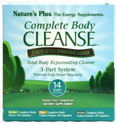 Nature's Plus Organic Complete Body Cleanse 14 Day Program Perspective: front