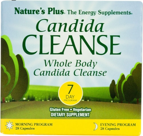 Nature's Plus  Candida Cleanse™ 7 Day Program Perspective: front