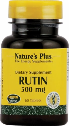 Nature's Plus Rutin Dietary Supplement Perspective: front