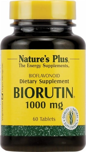 Nature's Plus BioRutin® Dietary Supplement Perspective: front