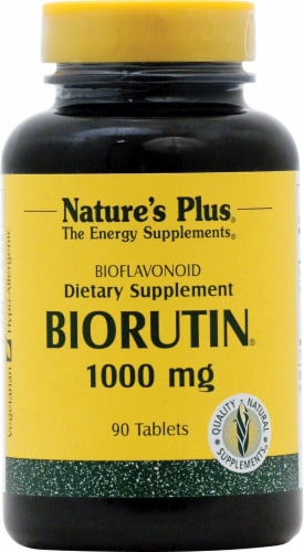 Nature's Plus  BioRutin® Perspective: front