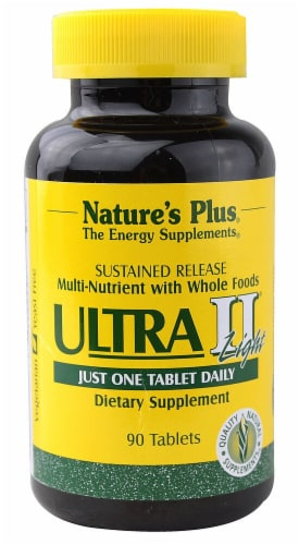 Nature's Plus  Ultra II® Light Multi-Nutrient Whole Foods Perspective: front