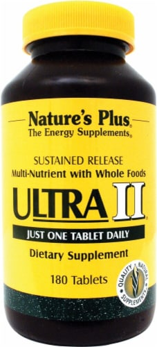 Nature's Plus  Ultra II® One a Day Multi-Nutrient Perspective: front
