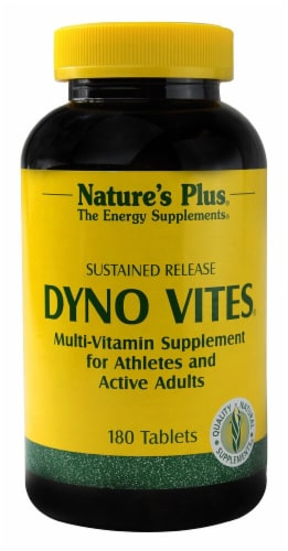 Nature's Plus  Dyno Vites® Sustained Release Perspective: front