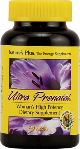 Nature's Plus  Ultra Prenatal® Perspective: front