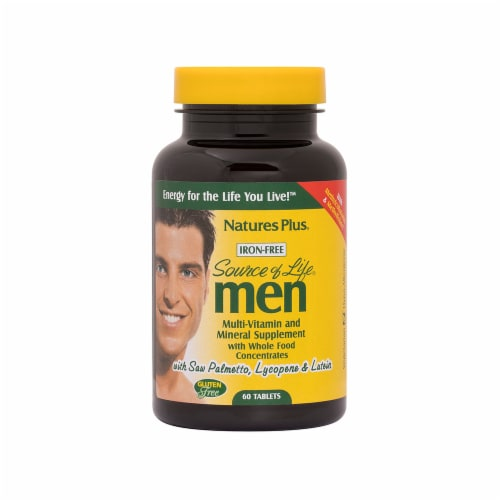 Nature's Plus Source Of Life Men Tab Perspective: front