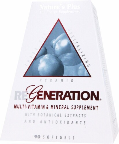 Nature's Plus  Regeneration® Multi-Vitamin and Mineral Supplement Perspective: front