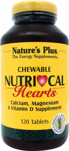 Nature's Plus  Nutri-Cal Hearts Chewable Perspective: front