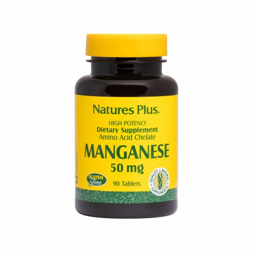 Nature's Plus Manganese Perspective: front