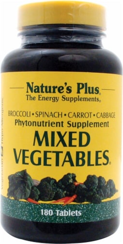 Nature's Plus  Mixed Vegetables® Perspective: front