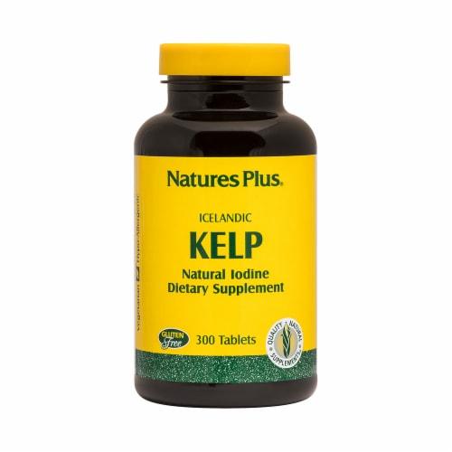 Nature's Plus Kelp Perspective: front
