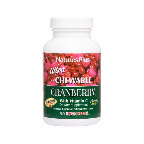 Nature's Plus Ultra Chewable Cranberry Perspective: front