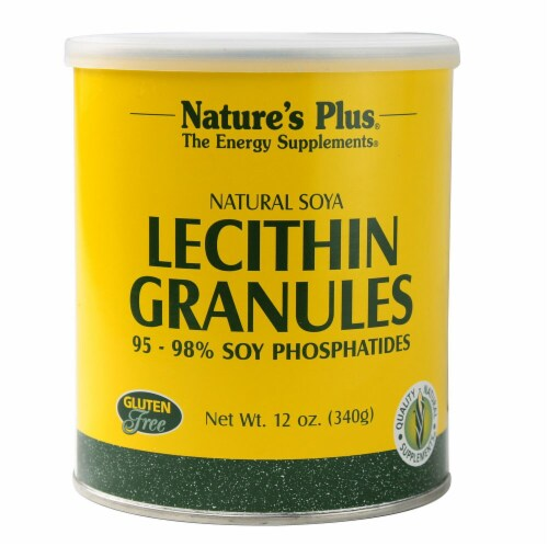 Nature's Plus  Lecithin Granules Perspective: front