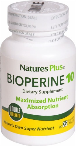 Nature's Plus  Bioperine® 10 Perspective: front