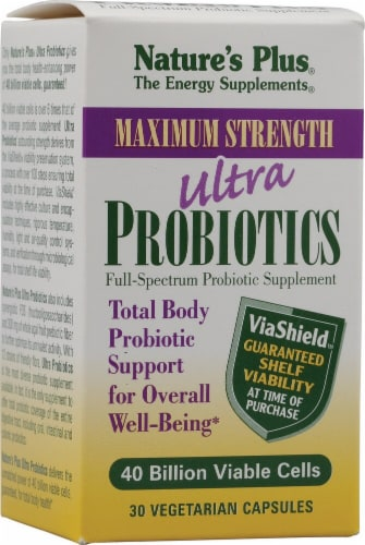 Nature's Plus  Ultra Probiotics Maximum Strength Perspective: front