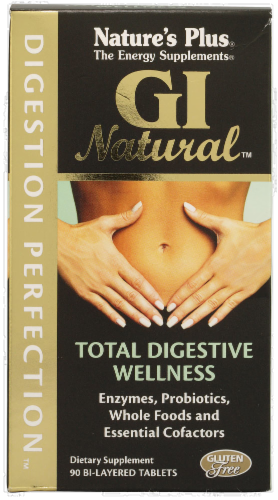 Nature's Plus GI Natural Supplement Perspective: front