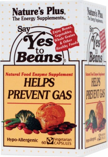 Nature's Plus  Say Yes To Beans® Perspective: front