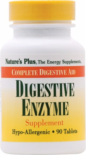 Nature's Plus  Digestive Enzyme Perspective: front